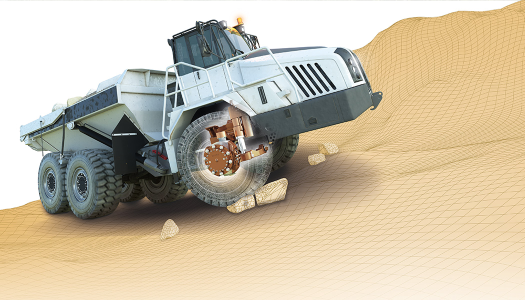How We Improved the Ride Index of 30-ton Construction Vehicle